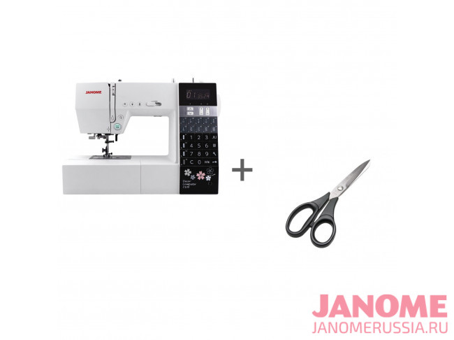 Компьютерная швейная машина Janome Decor Computer 7100 + ножницы портновские Premax B6170 в подарок!