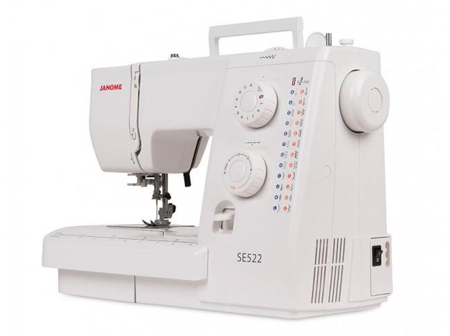 Электромеханическая швейная машина Janome SE522