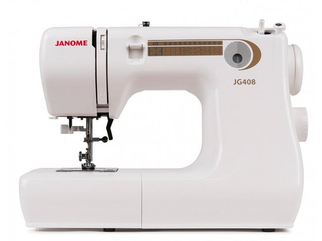 Электромеханическая швейная машина Janome JG408