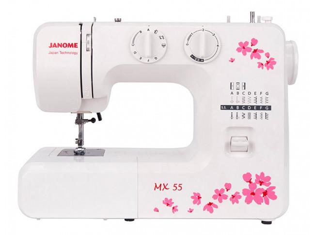 Электромеханическая швейная машина Janome MX 55