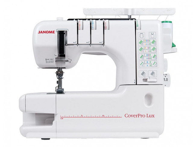 Распошивальная машина Janome CoverPro Lux