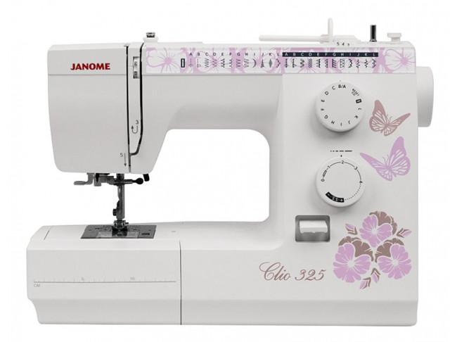 Электромеханическая швейная машина Janome Clio 325