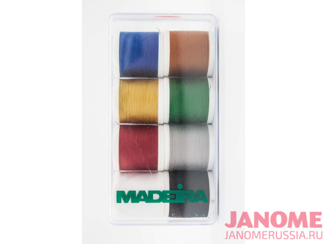 Набор ниток Madeira Aerofil 8х200 м для шитья