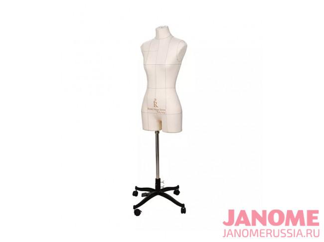Манекен женский мягкий портновский JANOME Monica, размер 42, бежевый