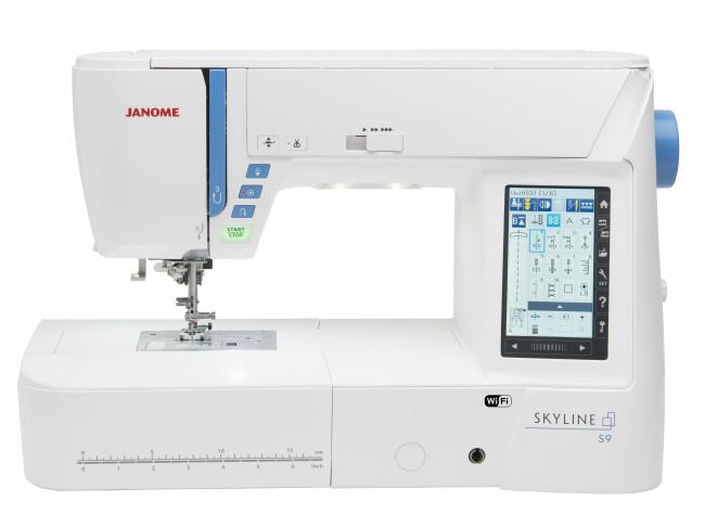 Швейно-вышивальная машина Janome Skyline S9