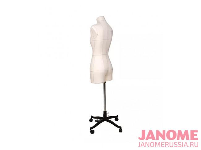 Манекен женский мягкий портновский JANOME Monica, размер 44, бежевый