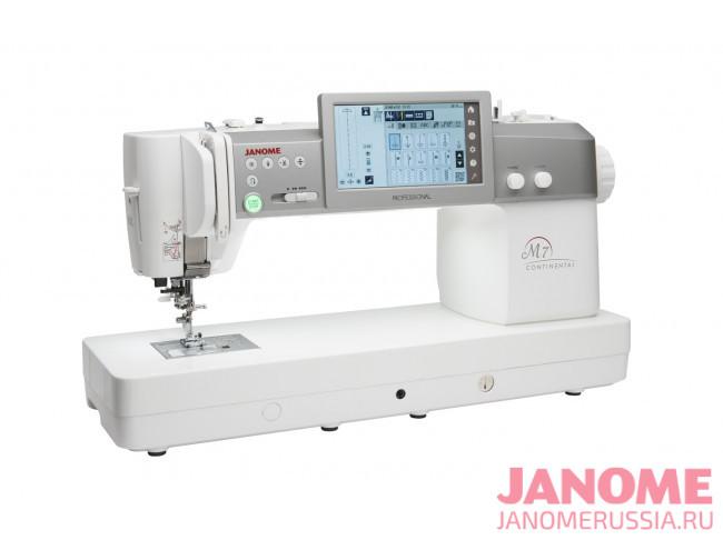 Компьютерная швейная машина Janome Continental M7 Professional