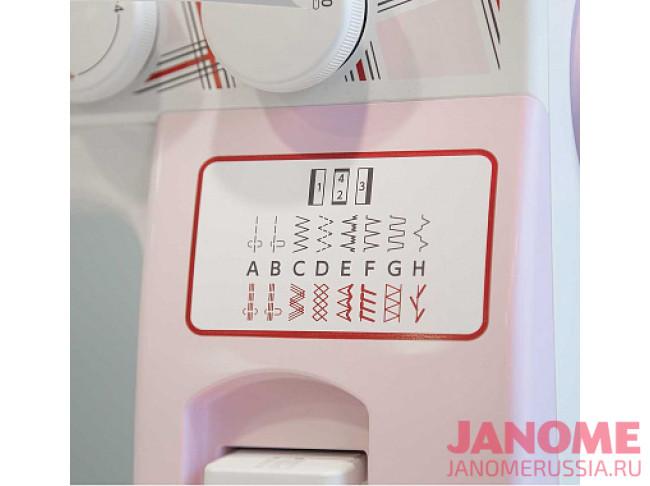 Электромеханическая швейная машина Janome SE7515