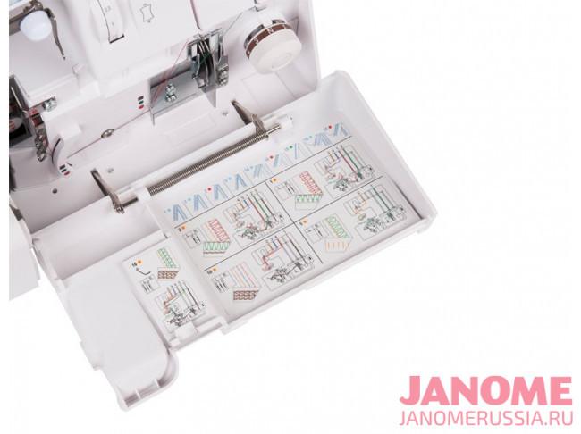 Коверлок Janome 1200D Professional