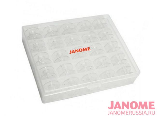 Шпульки в коробке Janome 200-277-006 (25 шт.)