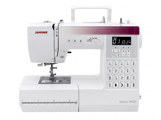 Компьютерная швейная машина Janome Sewist 740 DC