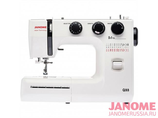 Электромеханическая швейная машина Janome Q33