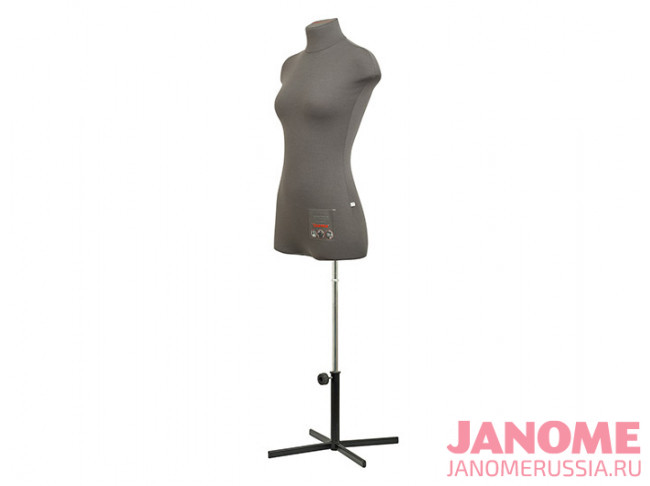 Манекен женский мягкий портновский JANOME Chayka, размер 44
