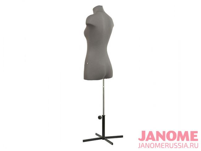 Манекен женский мягкий портновский JANOME Chayka, размер 46