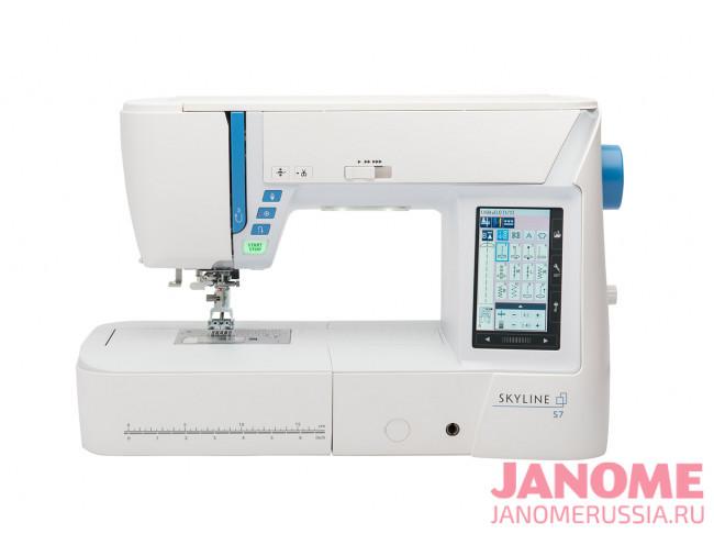 Компьютерная швейная машина Janome Skyline S7