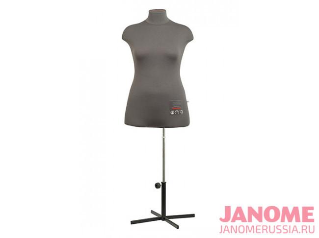 Манекен женский мягкий портновский JANOME Chayka, размер 48