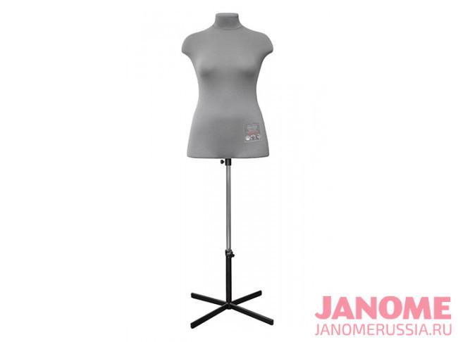 Манекен женский мягкий портновский JANOME Chayka, размер 50
