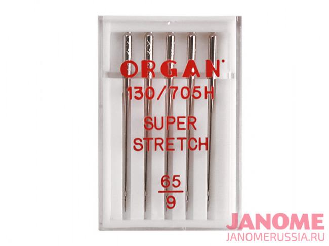 Иглы супер стрейч ORGAN130/705H №65/5