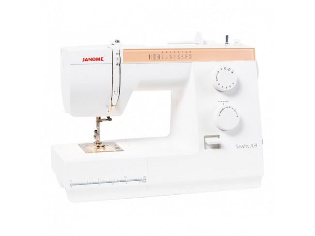 Электромеханическая швейная машина Janome Sewist 709